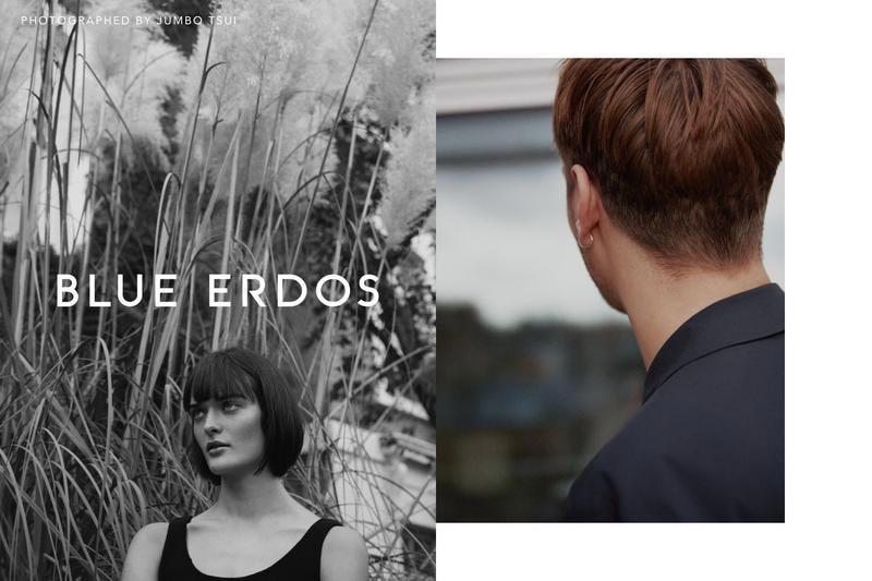 Blue Erdos photo shoot makeup