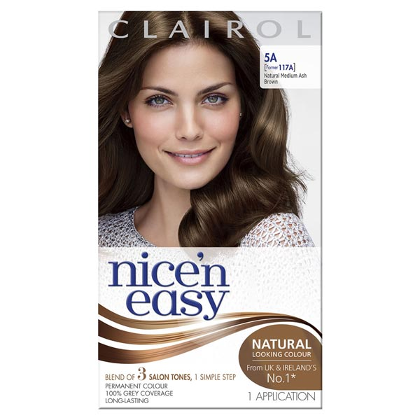 Clairol packaging photo shoot makeup