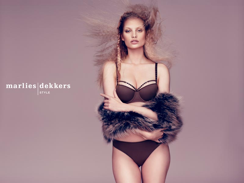 Make-up for Marlies Dekker Style advert