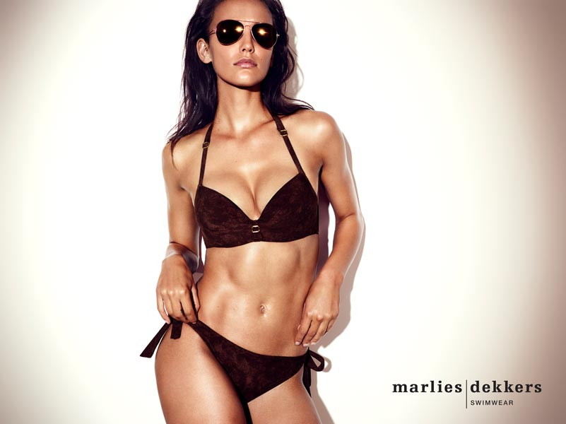 Make-up for Marlies Dekker Swimwear advert