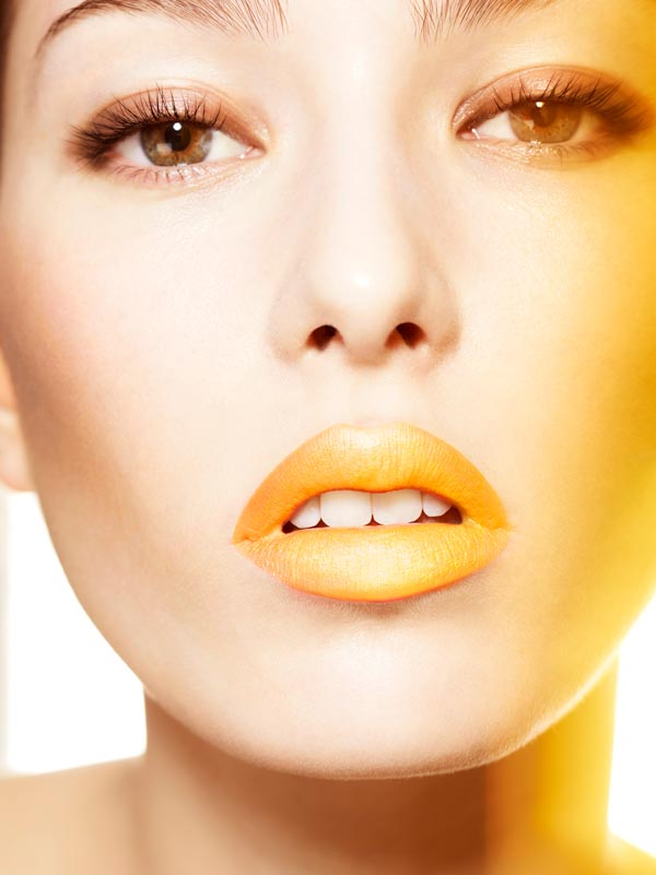Lips makeup by Mary Jane Frost