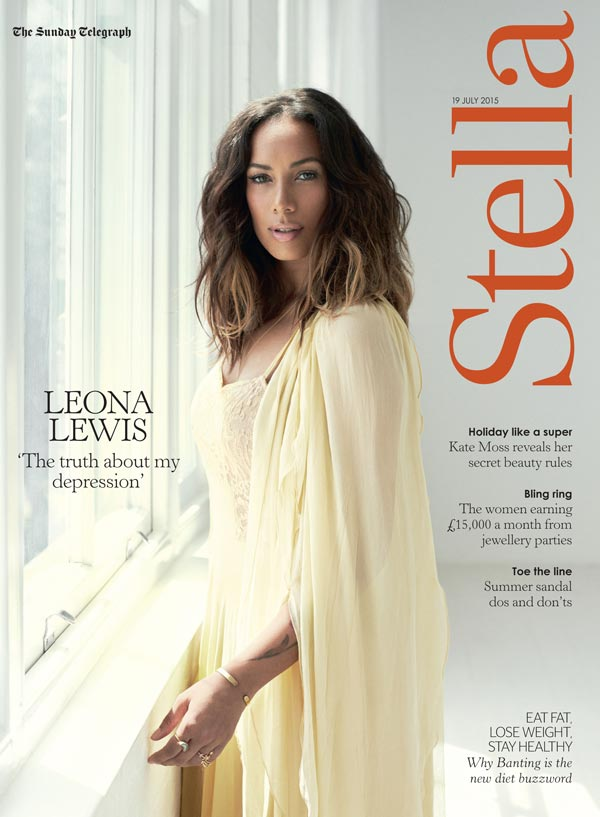 The Sunday Telegraph Stella magazine cover makeup artist
