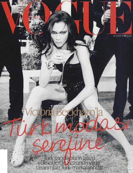 Vogue cover makeup artist Victoris Beckham