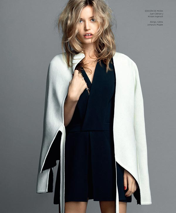 Harper Bazaar makeup by Mary Jane Frost