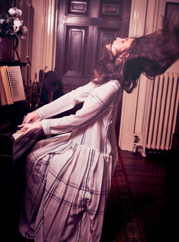 Harper Bazaar makeup by Mary Jane Frost